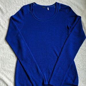 Elie Tahari Royal Blue Wool Sweater